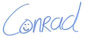Handtekening - Ezine HPHK Klein- Conrad