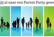 De parentparty is voor alle ouders en soorten gezinnen die willen praten over opvoeden en ouderschap een feestje.